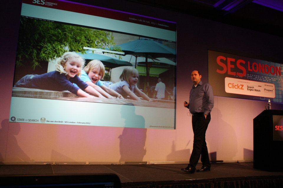 Speaking at SES London